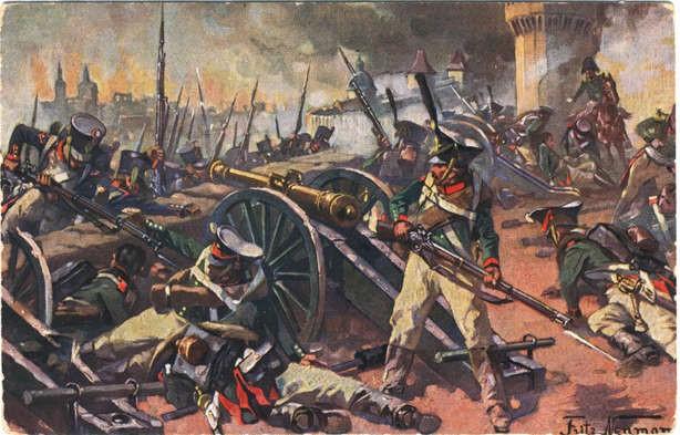 Резултат с изображение за битката при Неман.